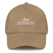 I Love Bunnies Cap