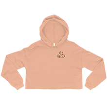 Sleepy Lop Bunny Crop Hoodie (Light Color)