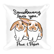 Prue And Piper Square Pillow