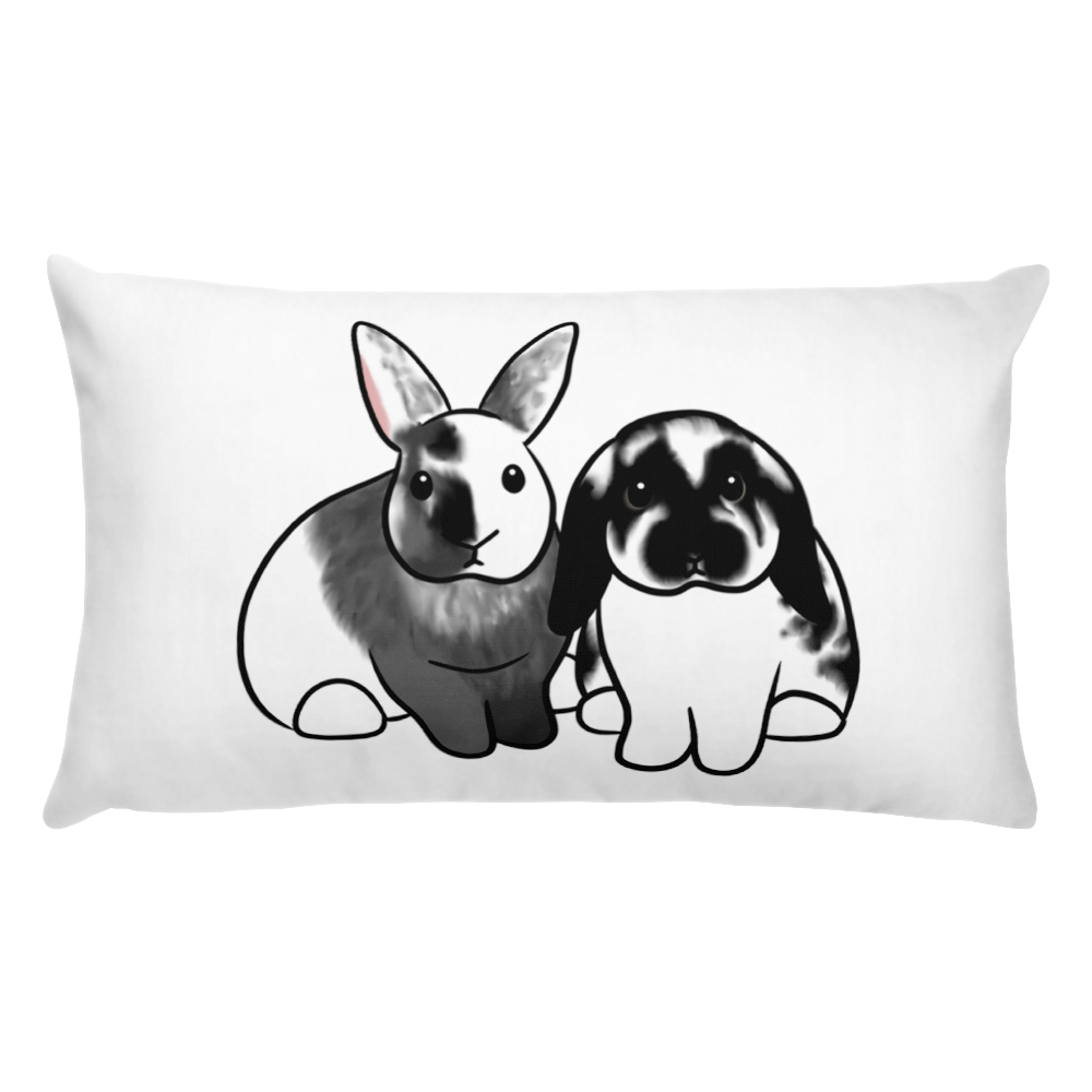 Tatum O'possum And Meeko Rectangle Pillow