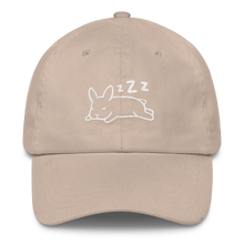 Sleeping Up Ear Bunny Cap (Multiple Colors)