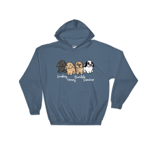 Smokey Honey Bumble And Domino Hooded Sweatshirt