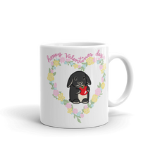 Hoppy Valentines Day Mug (Hiccup with Apple)