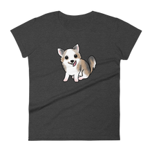 Fluffy Chihuahua Women's t-shirt