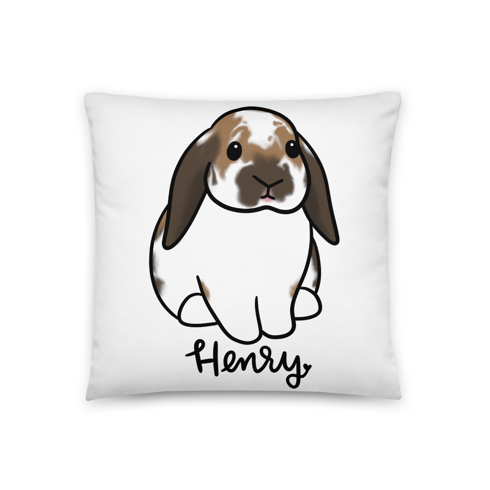 Henry the Lop Square Pillow