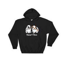 Primo and Prini Dark Hooded Sweatshirt