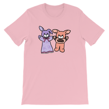 Lavender Bunbun And Peachy Unisex T-Shirt