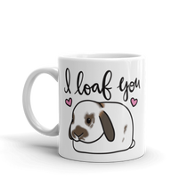 I Loaf You Lop Tort Mug