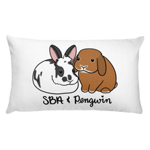 SBA and Pengwin Rectangular Pillow