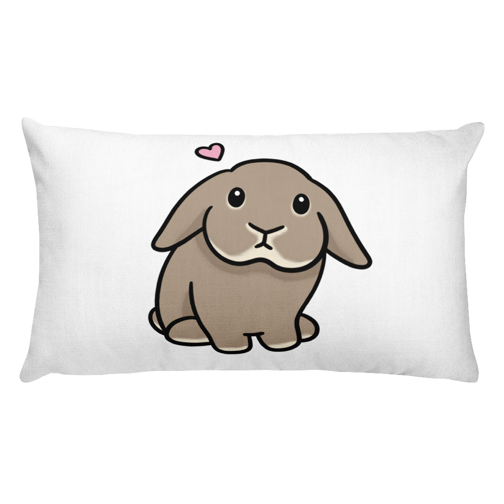 Wuuchan the Bun Rectangular Pillow