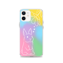 Tie Dye Bunny iPhone Case