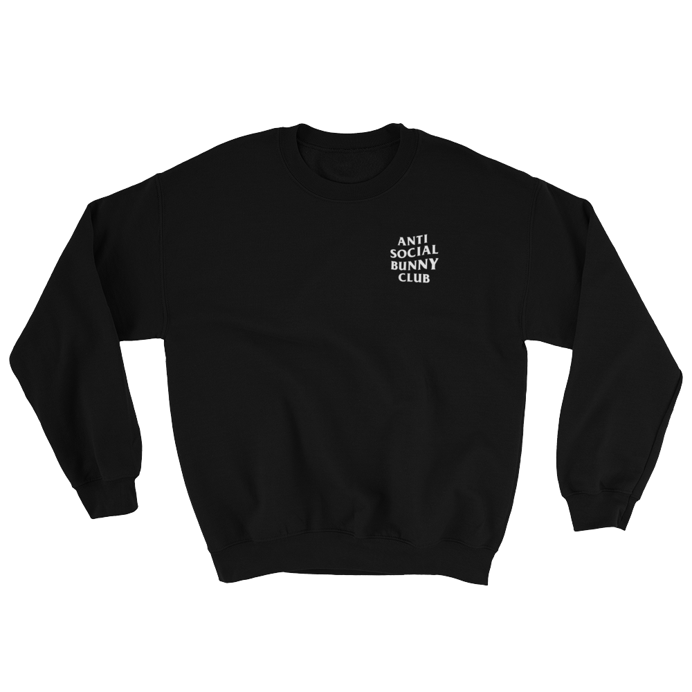 Anti Social Bunny Club Sweatshirt (Dark Colors)