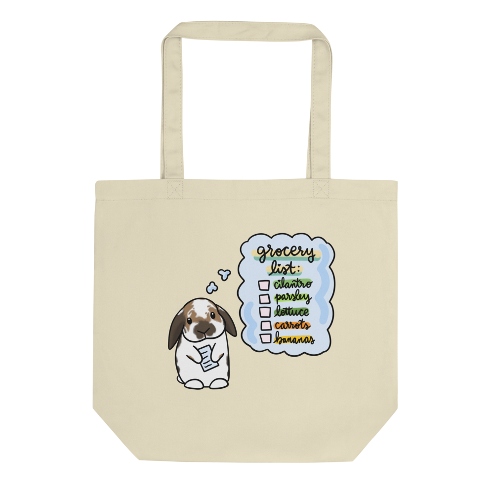Henry Grocery List Eco Tote Bag