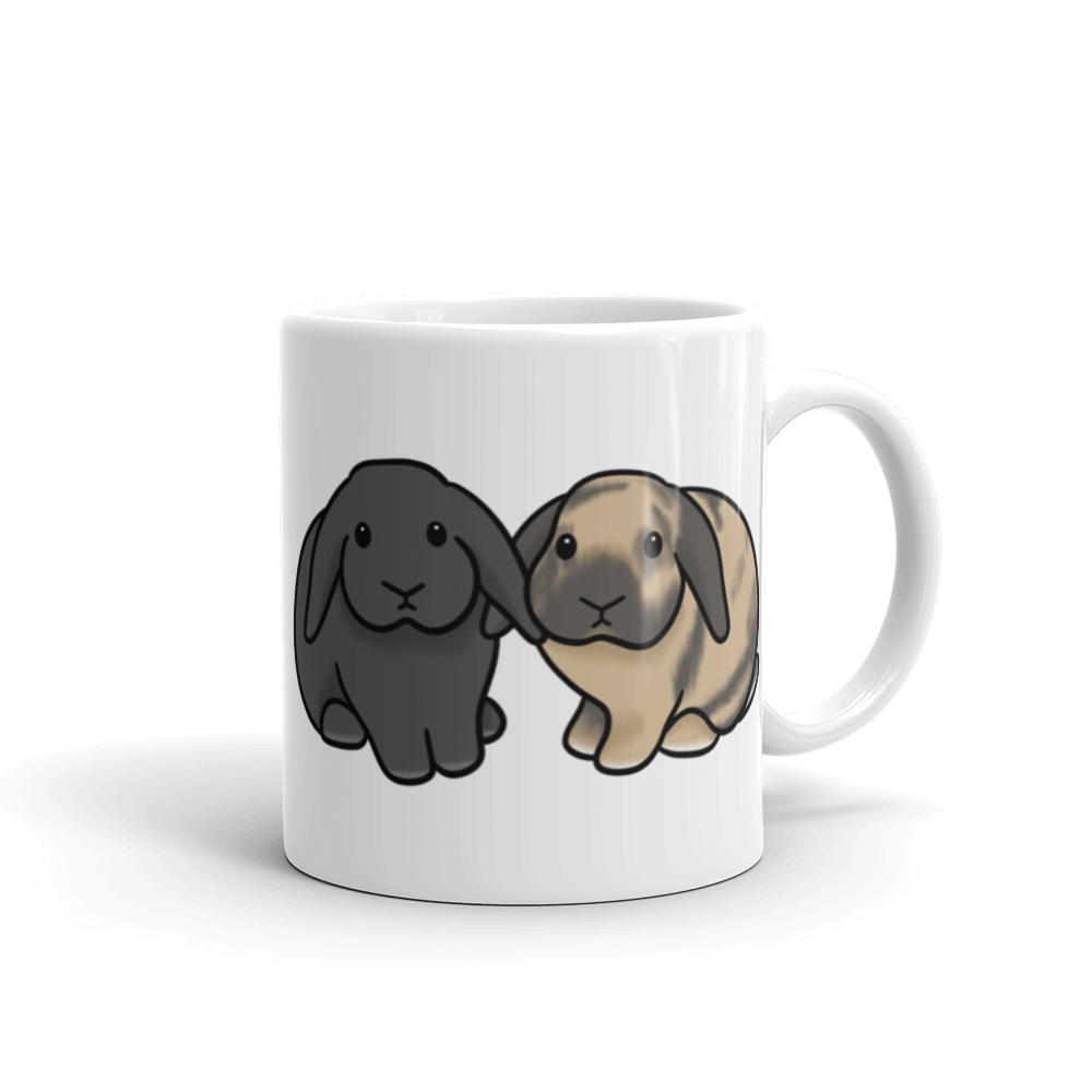 Peaches and Floyd Mug