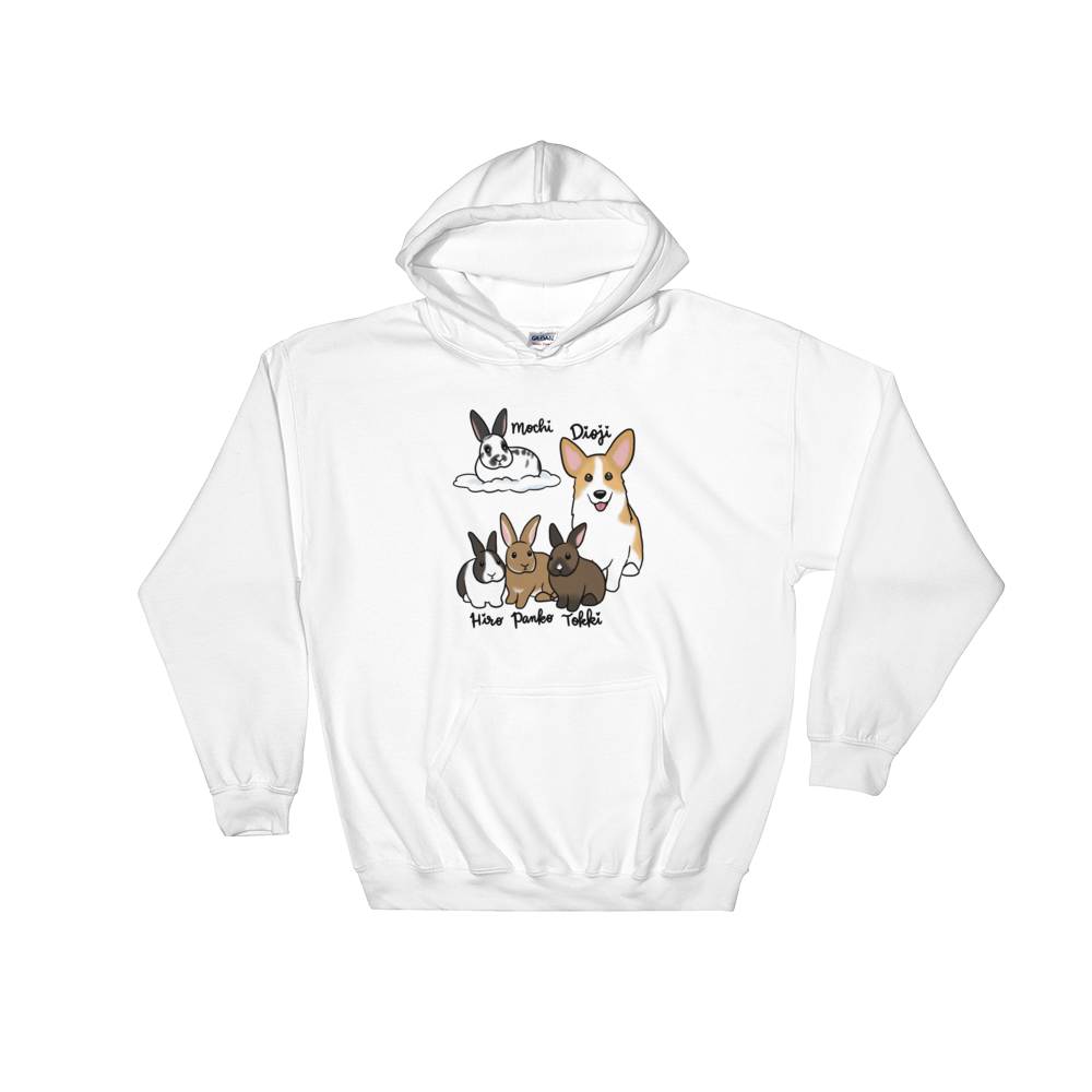 Mochi and Friends Hooded Sweatshirt