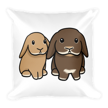 Two Lop Duo Square Pillow