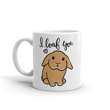 I Loaf You Mug Orange Lop
