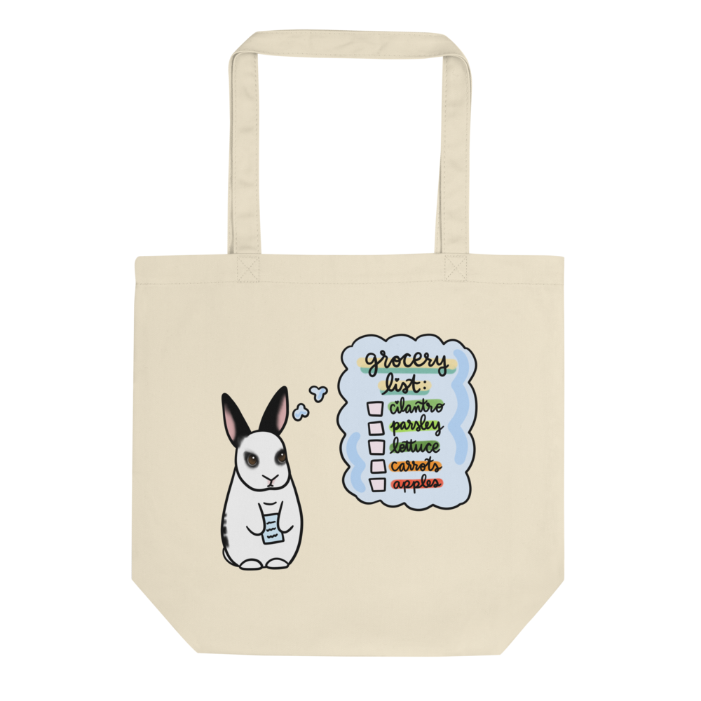 Lily Grocery List Eco Tote Bag