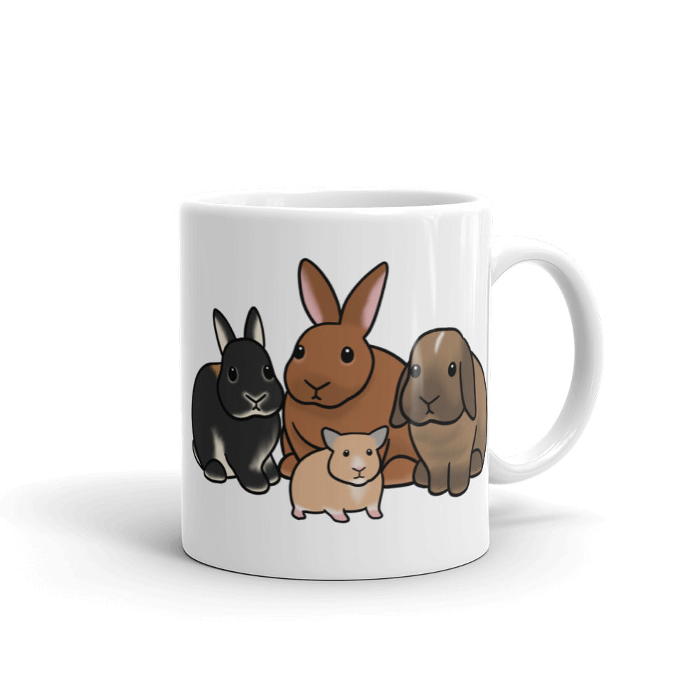 Louise, Leroy, Ginny, Butters Mug