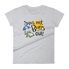 Suns Out Buns Out Women's T-shirt (version 2)