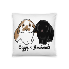 Oggy And Bouboule Square Pillow