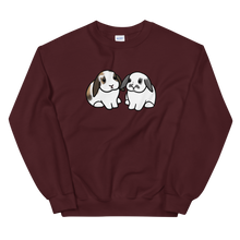 Cinnamon and Snowy Unisex Sweatshirt