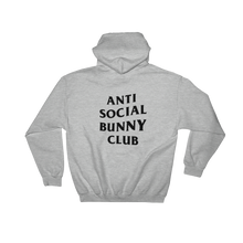 Anti Social Bunny Club Hooded Sweatshirt (Light Colors)