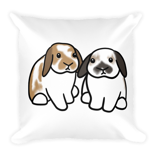 Basil and Butter Square Pillow