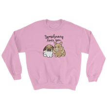 Somebunny Loves You Sweatshirt (Lionhead And Lop)
