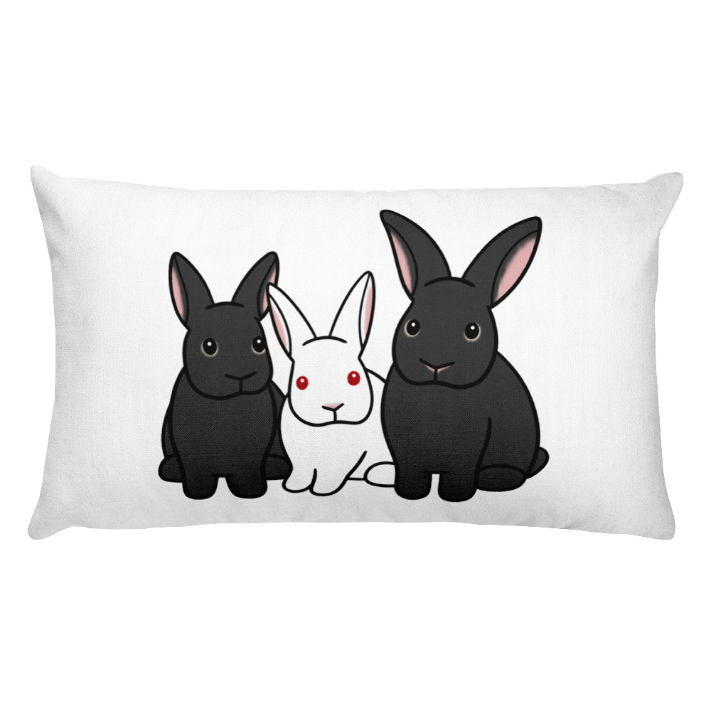 Harry Caprica And Houdini Rectangular Pillow