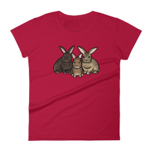 Gwendolyn Albert and Trixie Women's T-shirt