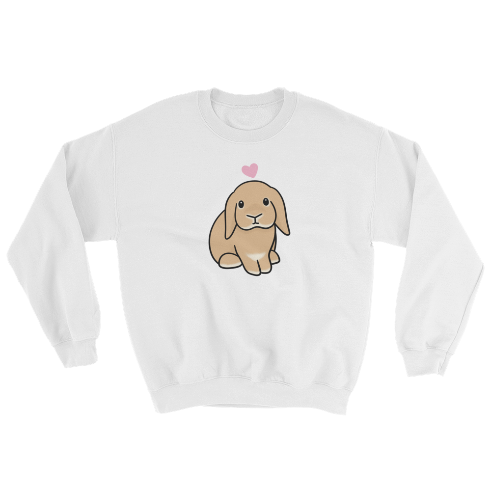 Orange Lop Bunny Sweatshirt