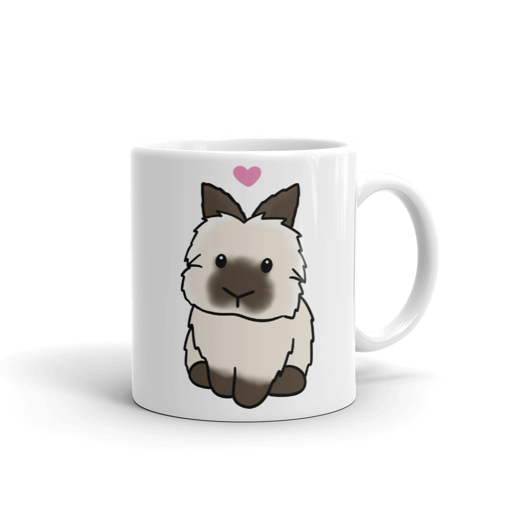 Stevie the Lionhead Mug