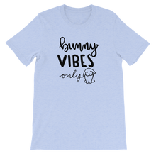 Bunny Vibes Only Unisex T-Shirt (Light Colors)