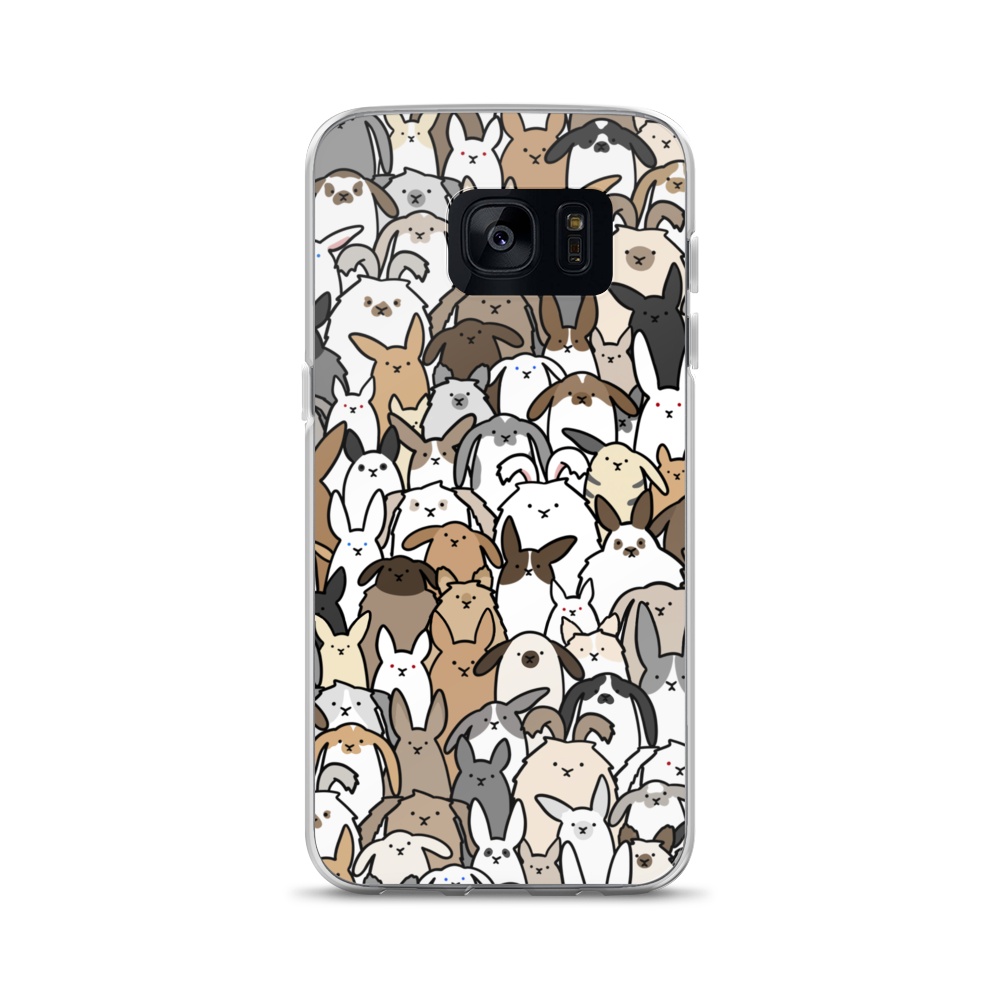 Bunnies Everywhere Samsung Case