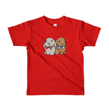 Two Lops with Bowtie kids t-shirt