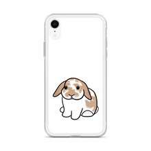 Orange White Lop iPhone Case