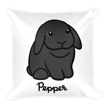 Pepper The Lop Square Pillow