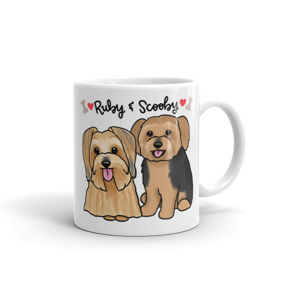 Ruby and Scooby Mug