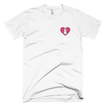 Heart Bunny Embroidered T-Shirt