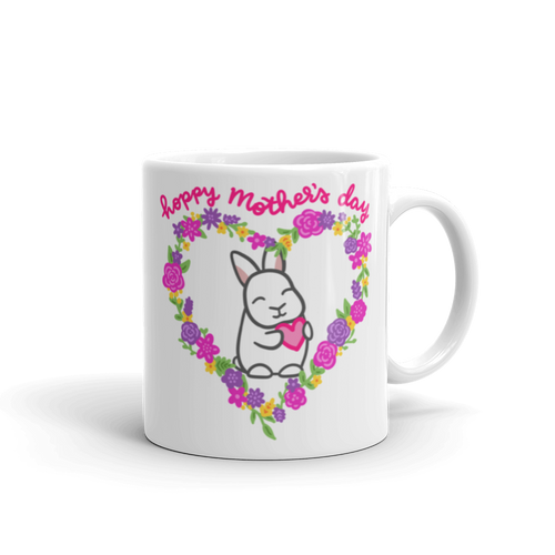 Hoppy Mother's Day Mug (Uppy Ear)