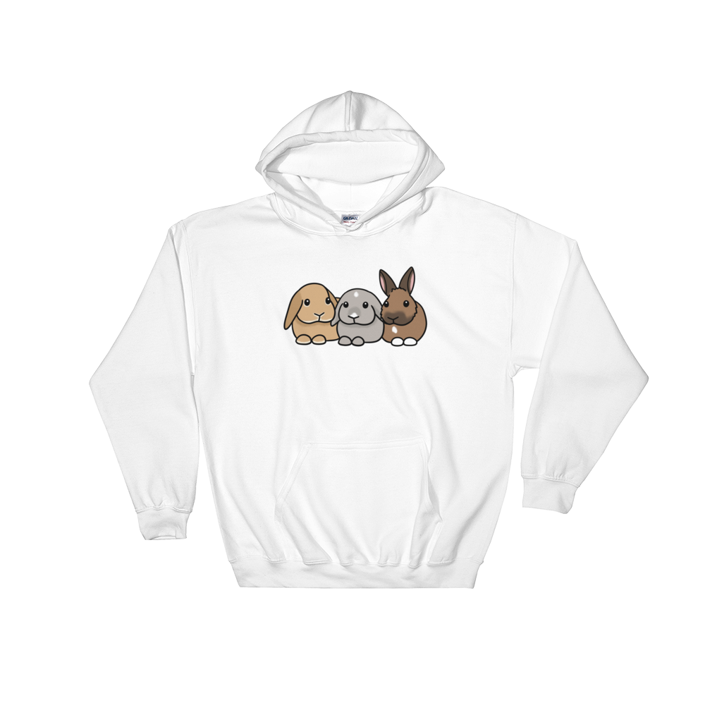 Phoebe Apollo and Rooney Hooded Sweatshirt