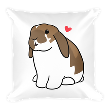 Lop Bunny Square Pillow