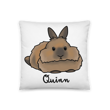 Quinn the Lionhead Square Pillow