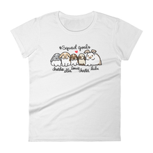 Squad Goals Women's T-shirt (with Names)