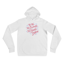 To All The Bunnies I've Loved Before Unisex Fleece Hoodie