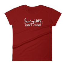 Bunny Hare Don't Care Women's T-shirt