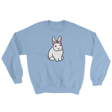 White Bunny Flower Sweatshirt
