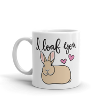 Rex I Loaf You Mug (Tan)