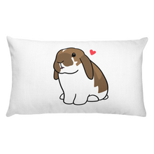 Lop Bunny Rectangular Pillow